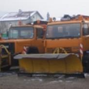 Снегопочистване  изкопни работи КГВ Транс