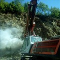Сондажи и пробивно-взривни работи Стара Загора - Роса 70